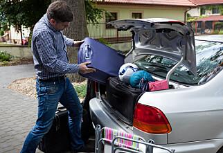 Mye bagasje, liten bil?