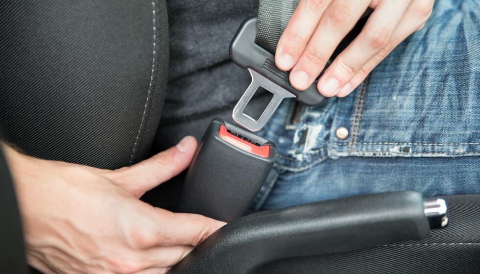 BILBELTE: Bruker du bilbelte riktig? En undersøkelse viser at mange bruker det feil. Foto: Andrey_Popov / Shutterstock / NTB