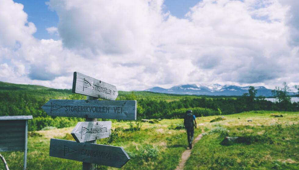 NORGESFERIE: Vi har plukket ut de 101 fineste turene i Norge. Men finner du din favoritt? Foto: Marius Dalseg Sætre/DNT