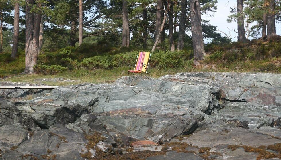 Sydentrikset: Mange setter opp en strandstol for å markere revir. Det er ikke tillatt. Foto: Odd Roar Lange/The Travel Inspector