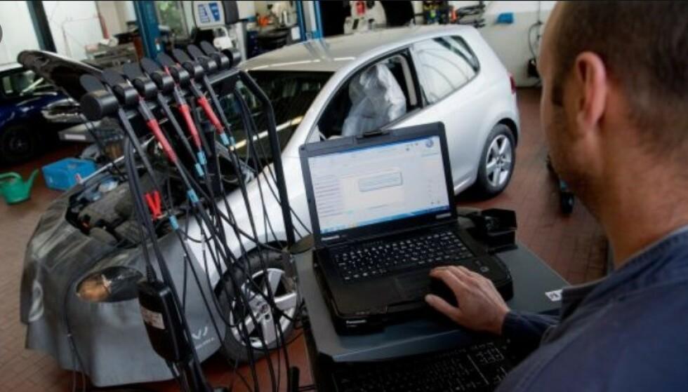 JUKS: VW innrømmet at de manipulerte sine dieselbiler, slik at de skulle klare de strenge avgasskravene i USA. Foto: COTY/Michael McAlleer