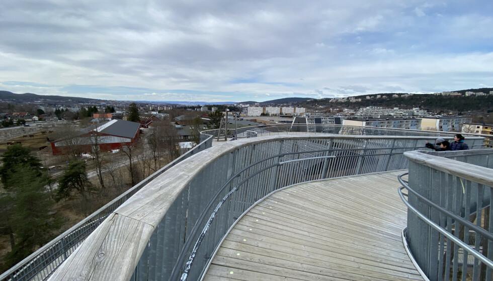 Stovnertårnet: Med utsikt over Oslo. Foto: Odd Roar Lange/The Travel Inspector