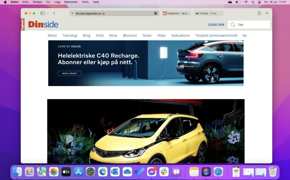 Safari får en designoverhaling i macOS Monterey. Det er ikke helt satt i stein hvordan det blir.