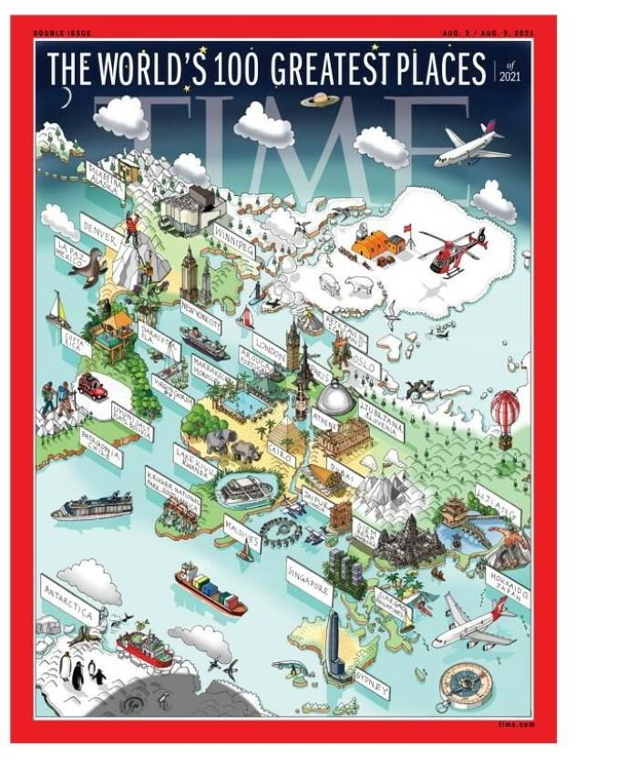 Verdens beste reisemål: Time setter Oslo på det nye reisekartet.  Kilde:Time
