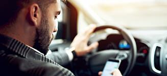 43 bilister bøtelegges daglig
