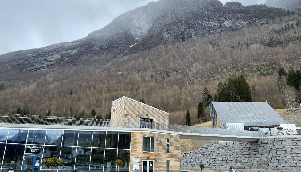 I Nordfjord. Bunnstasjonen på Loen Skylift. Foto: Odd Roar Lange/The Travel Inspector