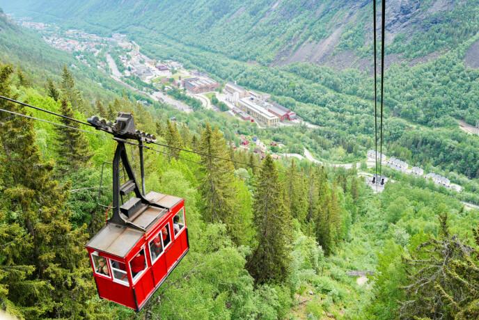 Tradisjonsrik: Krossobanen i Rjukan Foto: Odd Roar Lange/The Travel Inspector