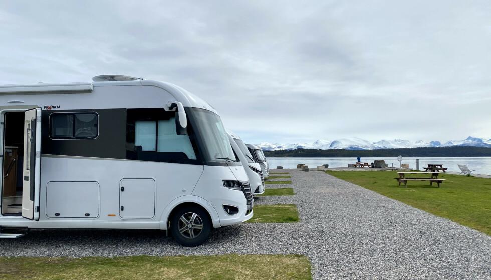 Trangt om plassen: Norske campingplasser melder om en ny rekordsommer. Foto: Odd Roar Lange/The Travel Inspector