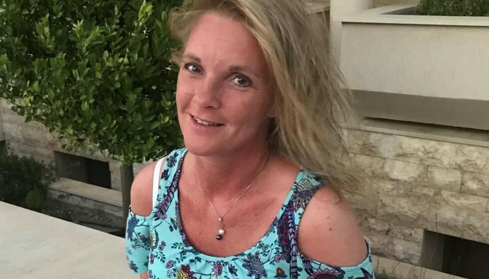 SVINDELFORSØK: Elin Tanja Danielsen (47) ble etter hvert mistenksom da den falske etterforskeren ringte. Foto: Privat