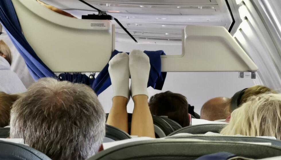 Nei, nei nei: Det er greit å gjøre turen komfortabel. Men - det går en grense. Foto: Odd Roar Lange/The Travel Inspector