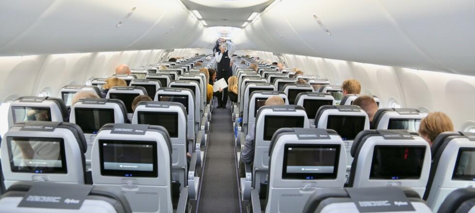 De sju verste setene i flyet