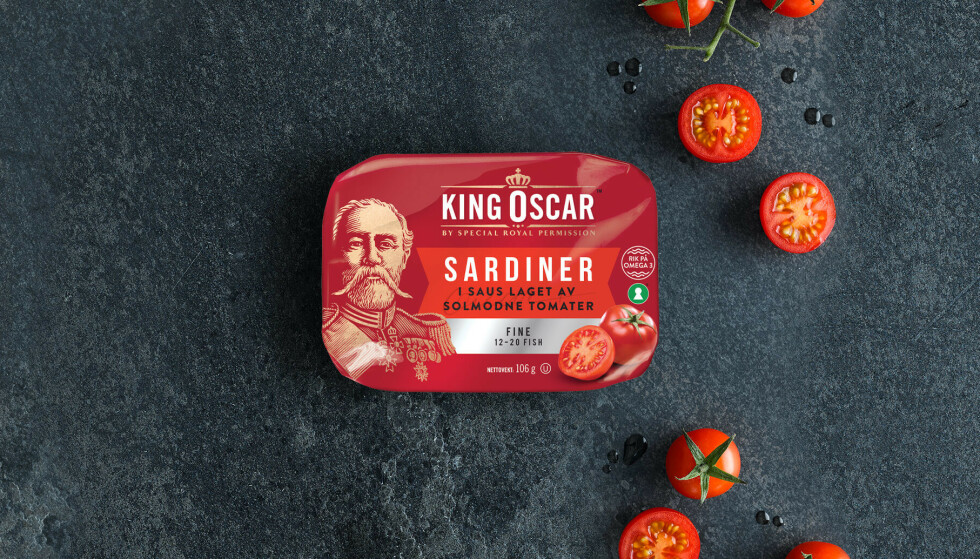KAN VÆRE SKADELIG: King Oscar trekker nå tilbake fire sardinprodukter etter funn av etylenoksid. Foto: King Oscar