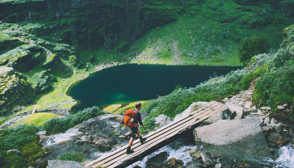 Norges fineste: Mange mener at Aurlandsdalen er Norges vakreste dal. Foto: Marius Dalseg Sætre/Turistforeningen