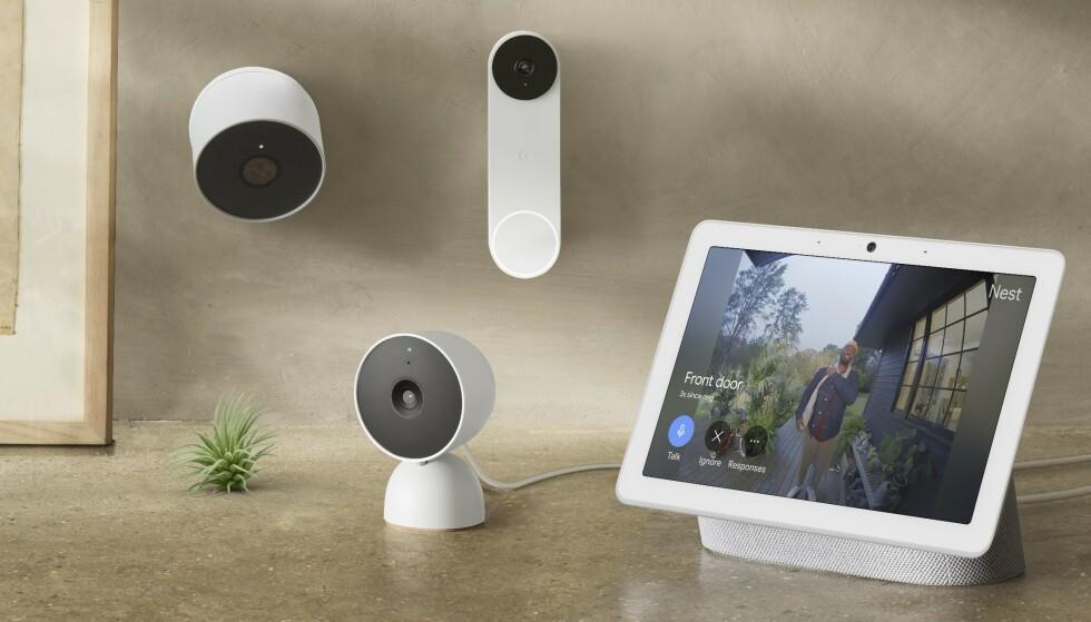 Du kan snakke med den som ringer på fra mobilen eller en Google Home-kompatibel skjerm. Foto: Google