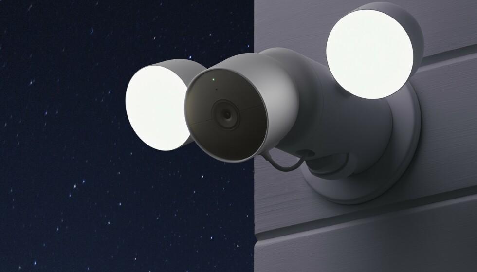 KOMMER: Nest Cam with floodlight er ikke blant produktene som lanseres i august, men vil komme noe senere. Foto: Google