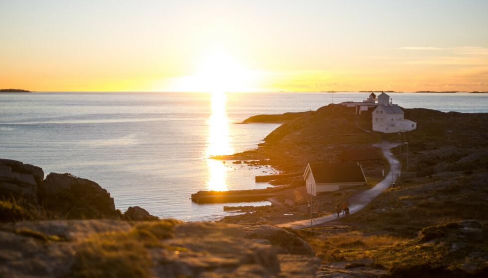 Magisk: Fra Fjøløy får du disse magiske øyeblikkene. Foto: John Petter Nordbø/DNT