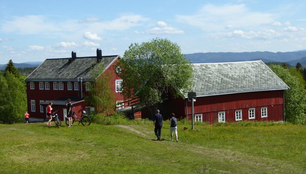 Velkommen: Rønningen Gård venter. Foto: Asgeir Våg/DNT