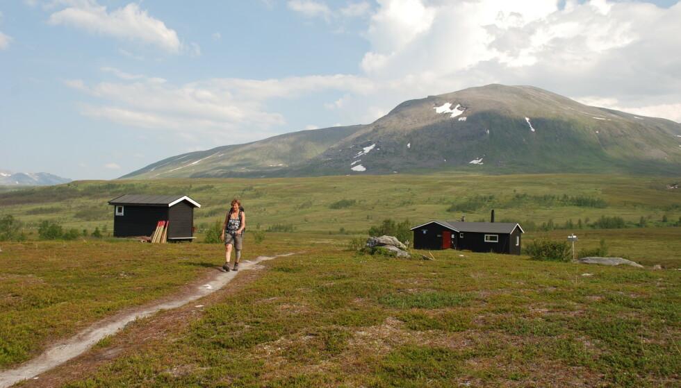 Herlig tur: Turen til Nonsbu er vakker og tilgjengelig for mange. Foto: Helle Andresen