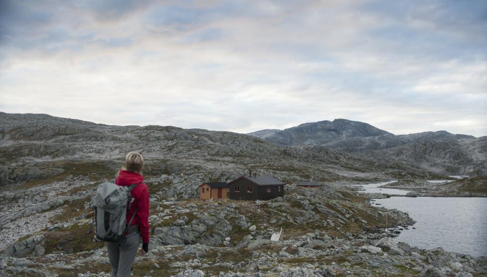 Velkommen til nærfjellturer: Ringvassbu er et perfekt turmål utenfor Tromsø. Foto: Sindre Thoresen Lønnes/DNT