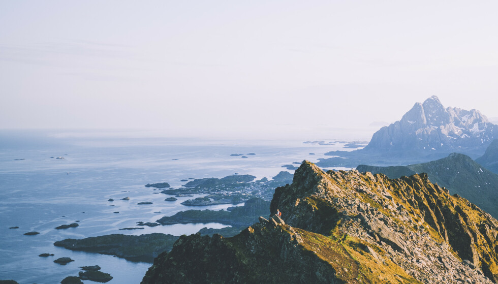 Nyt dette: Turen til Fløya gir denne belønningen. Foto: Foto: Marius Dalseg Sætre/DNT