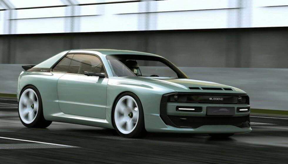 BARE 30: Start-opp bedriften Elegend har foreløpig sagt at de skal bygge 30 elektriske utgaver av EL1, som en hyllest til Audi Quattro Sport fra 80-tallet. Foto: Elegend
