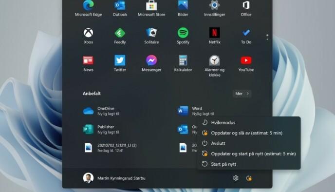 Windows Update: Windows 11 fornisce una stima della durata dell'aggiornamento.