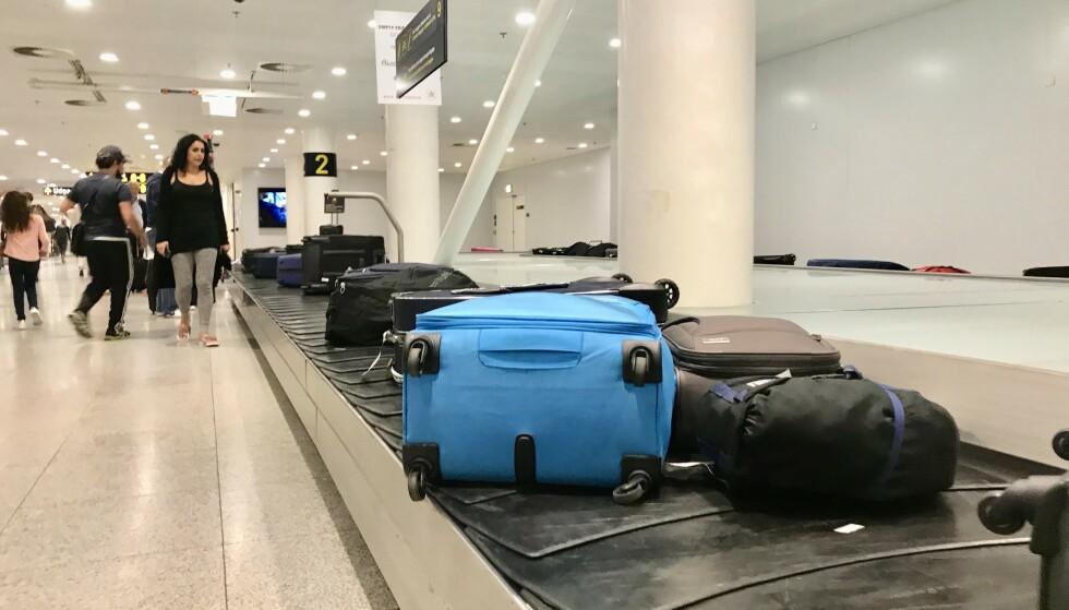 Hvor er passet ditt: Er passet på bagasjebåndet, mens du står i passkontrollen? Foto: Odd Roar Lange / The Travel Inspector
