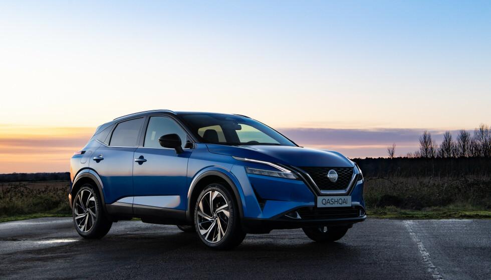 IKKE ELBIL: Det er fortsatt mange som ikke har mulighet for å kjøre elektrisk. Da er nye Qashqai et godt alternativ, tror den norske Nissan-importøren. Foto: Nissan