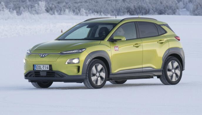 KONA DET BESTE KJØPET: Hyundai Kona er det beste kjøpet totalt sett, ifølge eierne av 75 forskjellige bilmodeller. Foto: Markus Pentikainen