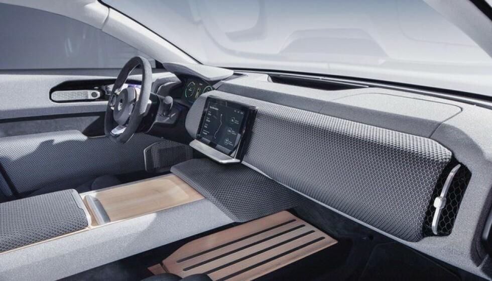 KOMMER I 2022: Produksjonen av bilen starter neste sommer på fabrikken til Valmet i Finland. Foto: Produsenten
