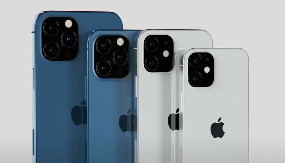 IPHONE 13? YouTuber og Apple-kjenner EverythingApplePro har laget denne iPhone 13-skissen for hvordan han tror designen blir. Foto: EverythingApplePro