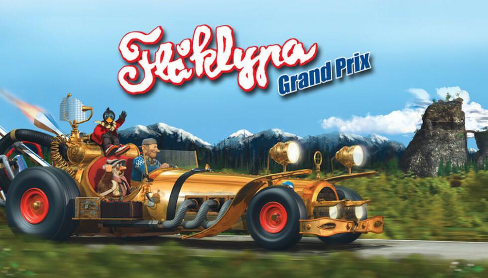 21 år etter lanseringa får vi en nyversjon av Flåklypa Grand Prix. Foto: Ravn Studio