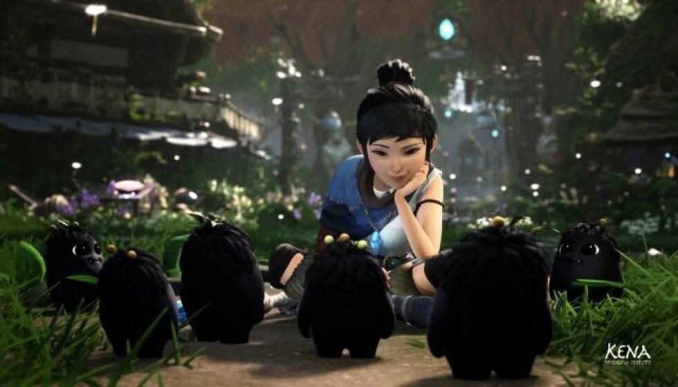 Fargerike Kena: Bridge og Spirits er konsolleksklusivt til PlayStation. Foto: Ember Lab