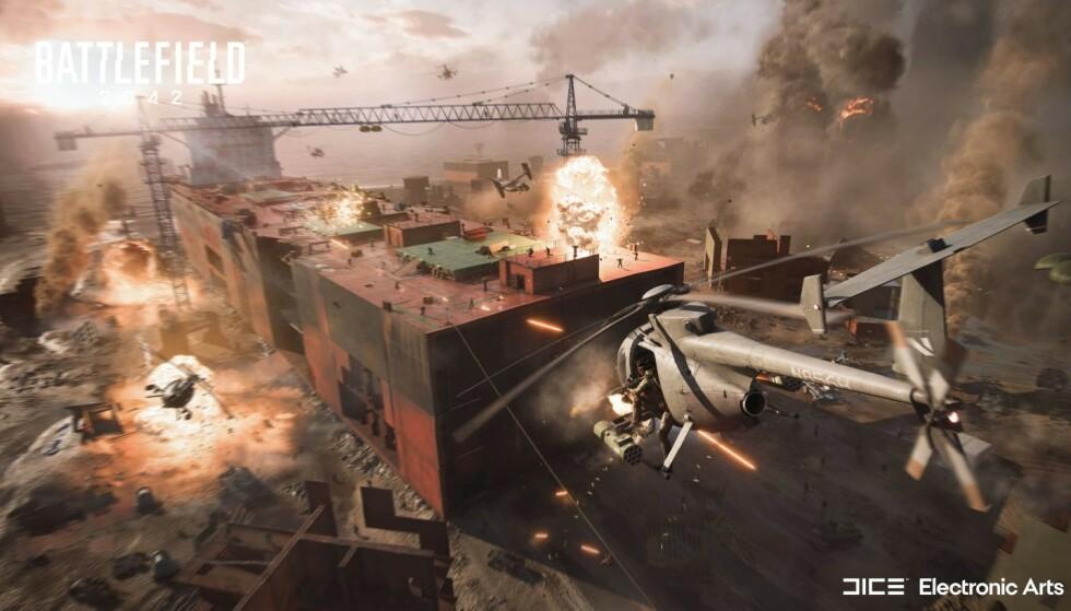 Dette bildet sier mer enn tusen ord om Battlefield-serien. Foto: EA