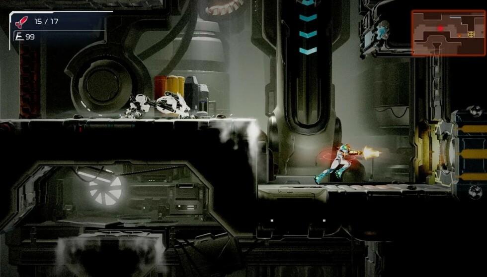 Klar for mer 2D-action= Metroid Dread kommer til Nintendo Switch i oktober. Foto: Nintendo