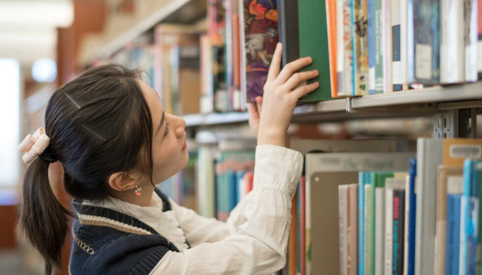 BIBLIOTEK: Du kan låne mye mer enn bøker på bibliotekene rundt om i landet! Foto: IVY PHOTOS / Shutterstock / NTB