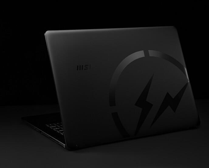 TYDELIG: Samarbeidet mellom MSI og Hiroshi Fujiwara bærer tydelig preg av et av designerens kjennemerker: Logoen.
