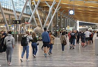 Lite kø for fullvaksinerte på flyplassene