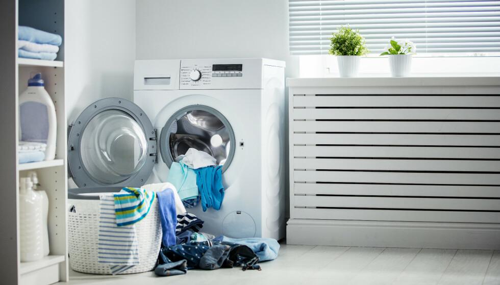 VASKEMIDDEL: Det forbrukerrådet Tænk har testet vaskemiddel. Hvilken tror du går seirende ut? Foto: Evgeny Atamanenko / Shutterstock / NTB