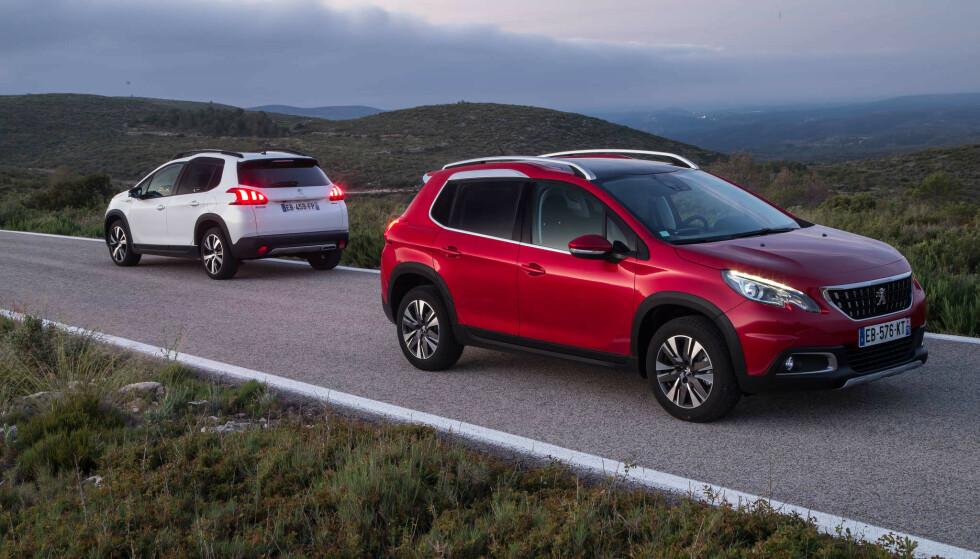 6000 i NORGE: I Norge er det rundt 6000 biler fra Peugeot og Citroën som må på verksted for å sjekke og eventuelt bytte registerreimen. Peugeot 208, 2008 (bildet) og 3008 er noen av de populære bilene som er berørt. Foto: Peugeot