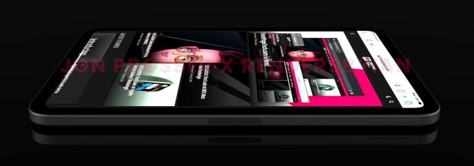 Ecco come Jon Prosser pensa che sarà l'iPad Mini di sesta generazione, sulla base di modelli CAD e foto che ha ricevuto da lui.  Foto: John Prosser