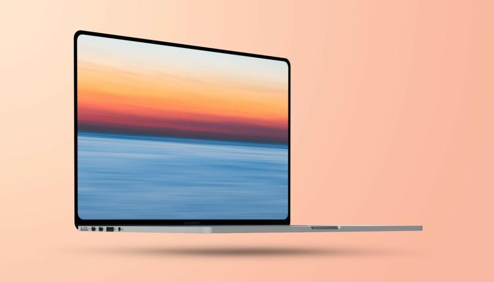 Indietro: il Macbook Pro 2021 dovrebbe avere cornici dello schermo più sottili con un piccolo display a LED e Magsafe, la porta USB standard e una porta HDMI (sul lato opposto) torneranno.  Foto: MacRumours