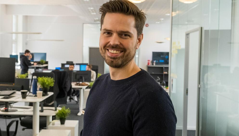 TA KONTROLL: Horde-sjef Alf Gunnar Andersen opplever at selskapets app gir nordmenn en aha-opplevelse rundt egen økonomi. Foto: Sven Eggebø
