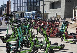 15 000 ubrukelige sparkesykler i Oslo