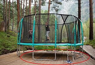 Her skal du ikke sette trampolinen