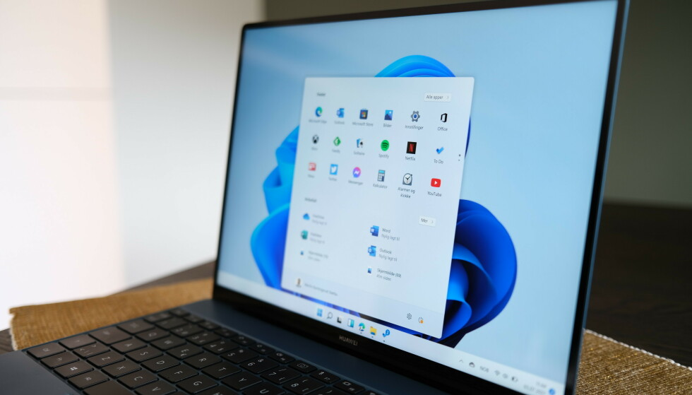 WINDOWS 11: Microsofts nye operativsystem kommer i oktober. Foto: Martin Kynningsrud Størbu