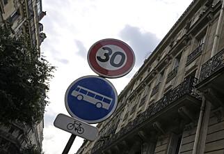 Maks 30 km/t i stadig flere byer