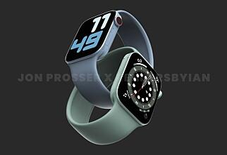 – Slik blir Apple Watch 7