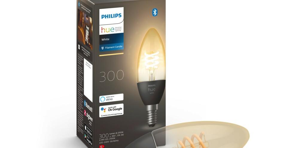 La serie Hue Filament si amplia anche con una lampada Mignon.