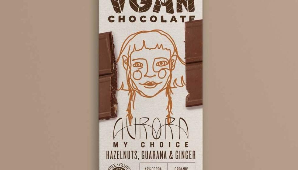 Oslo 20210902. Novelty Food AS trekker tilbake sjokoladene VGAN AURORA HAZELNUTS, GUARANA & GINGER (70 g) etter funn av etylenoksid i produktene. Foto: Novelty Food AS / NTB